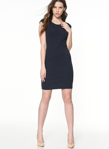 Mini Kalem Elbise-Only